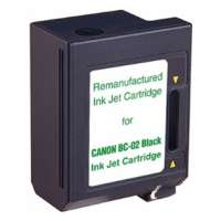 Cartridge America Remanufactured Canon BC-02 printer ink cartridge - black