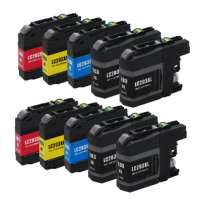 Compatible Brother LC203 ink cartridges, high yield, 10 pack