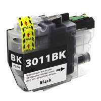 Compatible inkjet cartridge for Brother LC3011BK - black