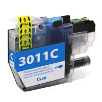 Compatible inkjet cartridge for Brother LC3011C - cyan
