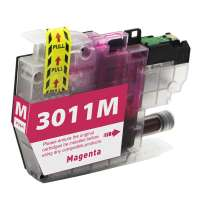 Compatible inkjet cartridge for Brother LC3011M - magenta