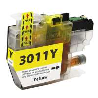 Compatible inkjet cartridge for Brother LC3011Y - yellow