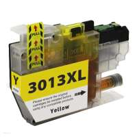 Compatible inkjet cartridge for Brother LC3013Y - high yield yellow