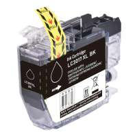 Compatible inkjet cartridge for Brother LC3017BK - high yield black
