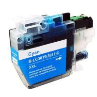 High Quality Generic Cartridge for Brother LC3019C - super high yield cyan