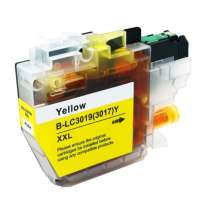 High Quality Generic Cartridge for Brother LC3019Y - super high yield yellow