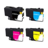 Compatible inkjet cartridges Multipack for Brother LC3037 - 4 pack