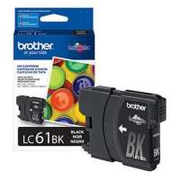 Brother LC61BK original ink cartridge, black