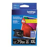 Brother LC79BK original ink cartridge, super high yield, black