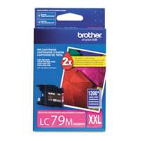 Brother LC79M original ink cartridge, super high yield, magenta