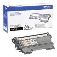 Brother TN420 original toner cartridge, 1200 pages, black