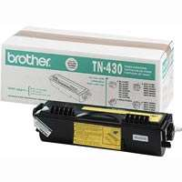 Brother TN430 original toner cartridge, 3000 pages, black