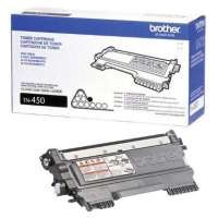 Brother TN450 original toner cartridge, 2600 pages, black