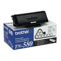 Brother TN580 original toner cartridge, 7000 pages, black
