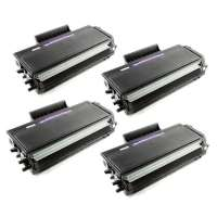 Compatible Brother TN650 toner cartridges, high yield, 4 pack