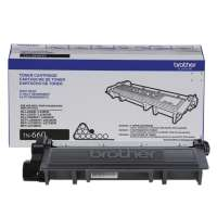 Genuine Original Brother TN660 toner cartridge - high capacity (high yield) black