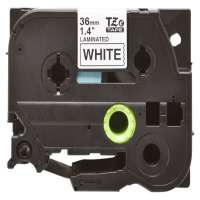 Compatible Brother TZe-261 label tape, 36 mm, black on white