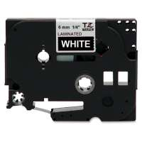 Compatible Brother TZe-315 label tape, 6 mm, white on black