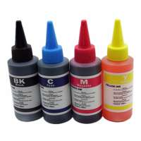 Universal Canon Ink Refill Kit (600 ml, includes 100ml each Black / Cyan / Magenta / Yellow / Photo Black / Gray) - includes 30-60 refills worth of ink