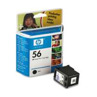 HP 56, C6656AN OEM ink cartridge, black