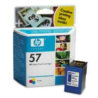 HP 57, C6657AN OEM ink cartridge, tri-color