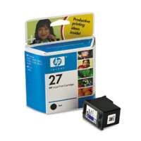 HP 27, C8727AN OEM ink cartridge, black