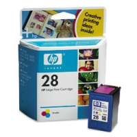 HP 28, C8728AN OEM ink cartridge, tri-color