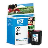 HP 21, C9351AN OEM ink cartridge, black