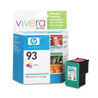 HP 93, C9361WN OEM ink cartridge, tri-color