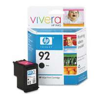 HP 92, C9362WN OEM ink cartridge, black