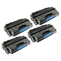 Remanufactured Canon 119 toner cartridges, 4 pack