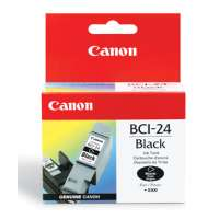 Canon BCI-24BK OEM ink cartridge, black