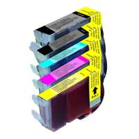 Compatible value pack of ink cartridges for Canon BCI-3 / BCI-6 - 5 pack