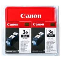 Canon BCI-3Bk OEM ink cartridges, 2 pack