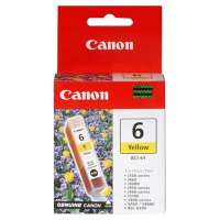 Canon BCI-6Y OEM ink cartridge, yellow