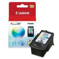 Canon CL-211 OEM ink cartridge, color