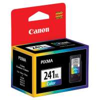 Canon CL-241XL OEM ink cartridge, high yield, color