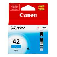 Genuine Original Canon CLI-42 ink cartridge - cyan