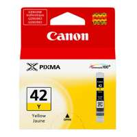 Genuine Original Canon CLI-42 ink cartridge - yellow
