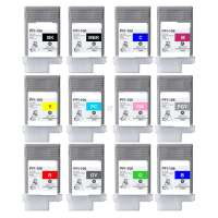 Compatible Canon PFI-106 ink cartridges, 12 pack
