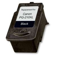 Remanufactured Canon PG-210XL ink cartridge, high yield, pigment black