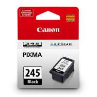 Canon PG-245 OEM ink cartridge, pigment black