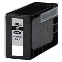 Compatible Canon PGI-1200BK XL ink cartridge, high yield, pigment black