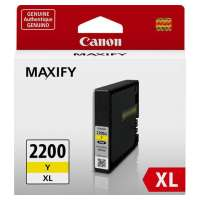 Canon PGI-2200Y XL OEM ink cartridge, high yield, yellow