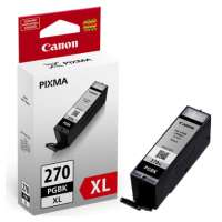 Canon PGI-270 XL OEM ink cartridge, high yield, pigmented black