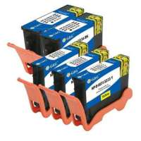 Compatible Dell Series 33 ink cartridges, 5 pack