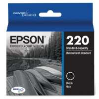 Epson 220, T220120 OEM ink cartridge, black