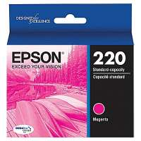 Epson 220, T220320 OEM ink cartridge, magenta