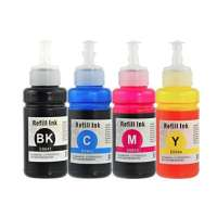 Compatible Epson 664 ink bottles, 4 pack