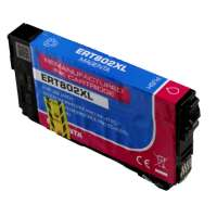 Remanufactured Epson T802XL320 (802XL) inkjet cartridge - high capacity magenta